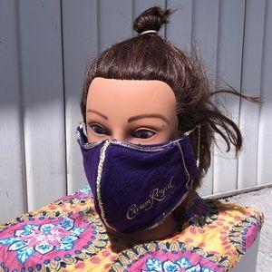 SALE! Crown royal handmade facemask